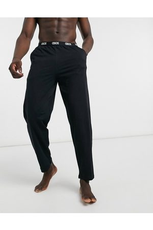 ASOS Lounge pyjama bottom in with branded waistband