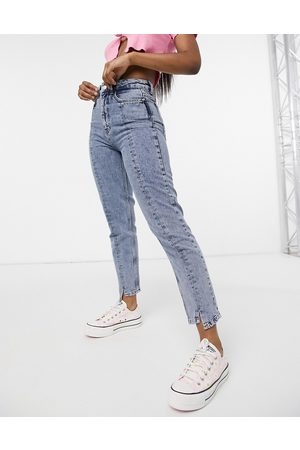 New Look Seam detail mom jean in