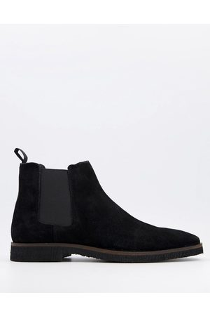 WALK LONDON Hornchurch chelsea boots in suede