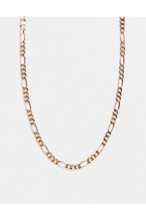 ASOS Necklace in figaro chain in tone