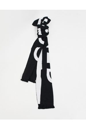Consigned Oversized scarf with print