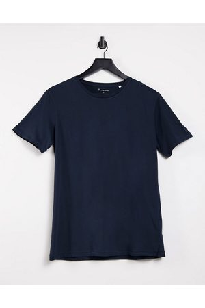 Knowledge Cotton Apparal Organic cotton logo t-shirt in