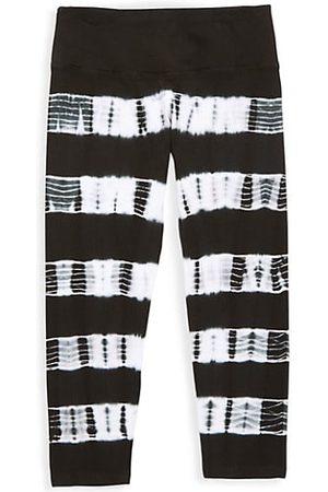 Hard Tail Girl's Striped Capri Pants