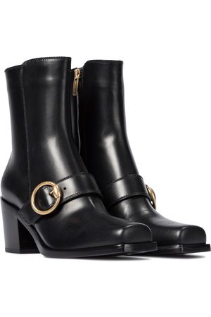 Gianvito Rossi Wayne leather ankle boots