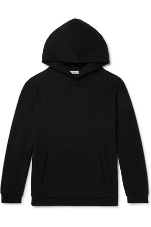 SSAM Cotton and Camel Hair-Blend Hoodie
