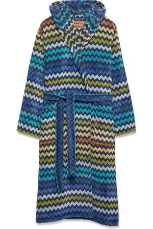 Missoni Home Warner Cotton-Terry Hooded Robe