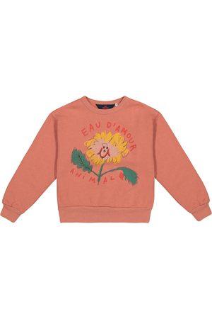 The Animals Observatory Girls Sweatshirts - Eau D'Amour cotton sweatshirt