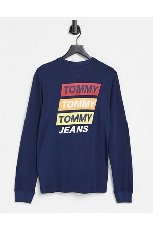 Tommy Hilfiger Back mountain print long sleeve top in