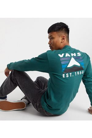 Vans Mountain back print long sleeve t-shirt in Exclusive at ASOS