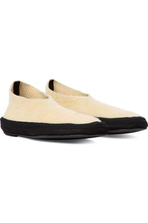 The Row Fairy cashmere ballet flats