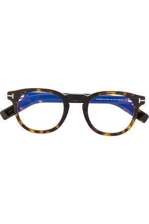 Tom Ford FT5629B round-frame glasses
