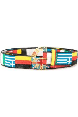CHANEL 2005 flag motifs belt