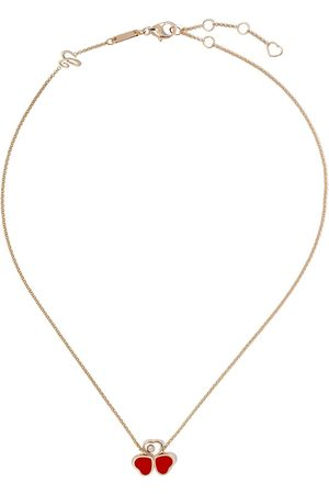 Chopard 18kt rose gold Happy Heart necklace
