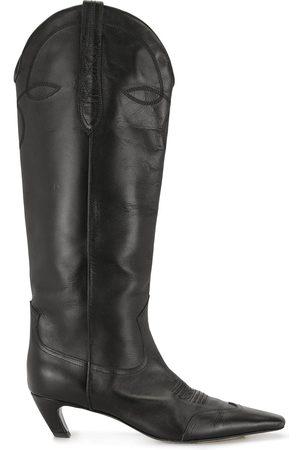 Khaite Women Knee High Boots - Dallas knee-high 50mm boots