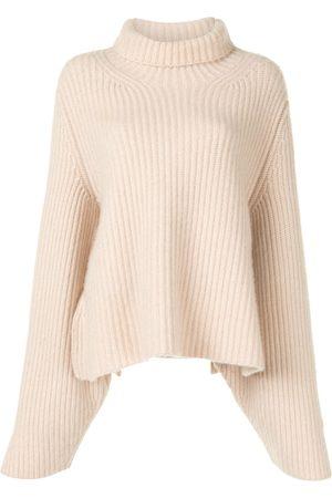 Khaite Molly knitted high-neck jumper