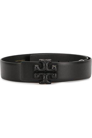 Tory Burch Eleanor leather logo belt