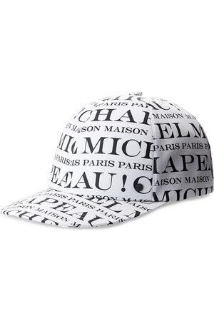 Le Mont St Michel Hailey logo-print cap
