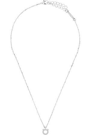 Salvatore Ferragamo Gancini pendant necklace