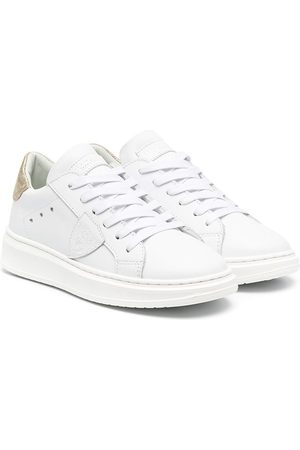 Philippe model Logo-patch lace-up sneakers