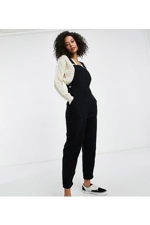 ASOS ASOS DESIGN tall twill dungrees with pockets in