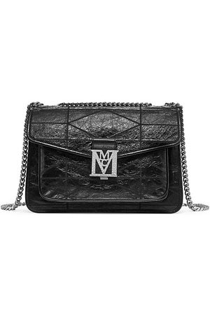 MCM Women Handbags - Mena Large Quilted Leather Shoulder Bag