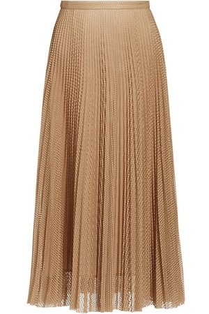 AKRIS Women Midi Skirts - Sakura Dot Lace Midi Skirt