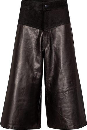 J Brand Evie leather culottes