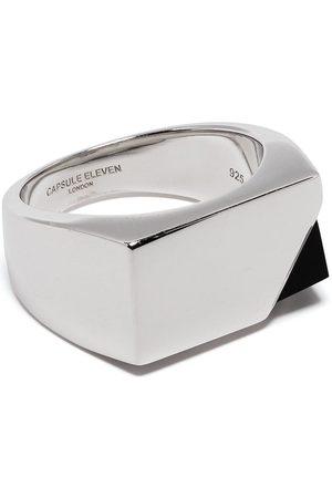 CAPSULE ELEVEN Onyx-embellished ring