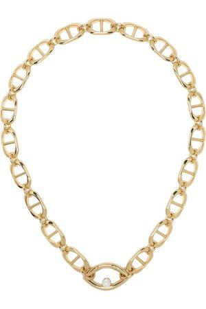 CAPSULE ELEVEN Eye Opener pearl pendant necklace