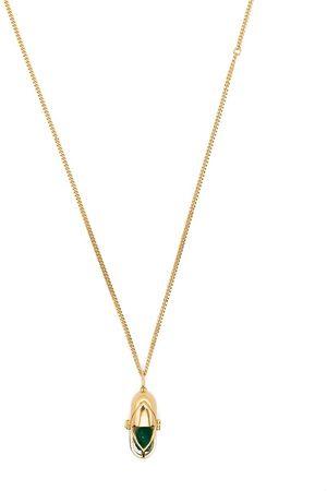 CAPSULE ELEVEN Crystal pendant necklace