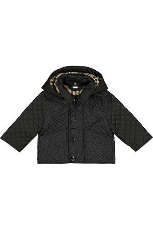 Burberry Baby Monogram quilted coat