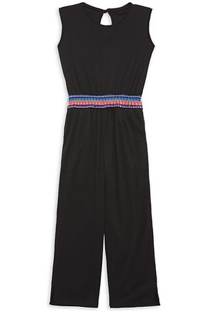 LITTLE PEIXOTO Little Girl's & Girl's Kora Multicolor-Waist Jumpsuit