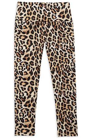 LITTLE PEIXOTO Little Girl's & Girl's Wild Leopard Leggings