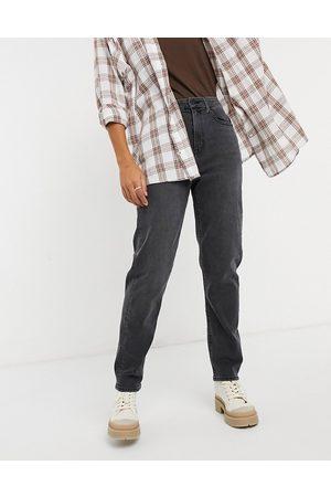 American Eagle Curvy mom jeans in black