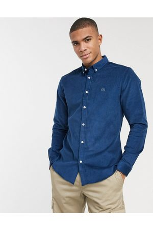 River Island Slim fit cord shirt in