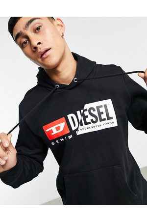 Diesel S-girl hood cuty overhead hooded sweat in