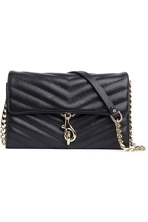 Rebecca Minkoff Wallets - Edie Quilted Leather Wallet-On-Chain