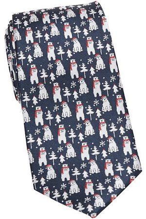 Cufflinks, Inc. Men Neckties - Holiday Polar Bear Silk Tie