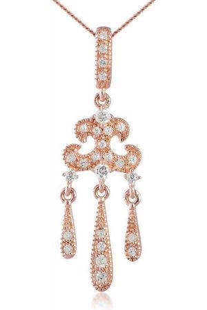 V JEWELLERY Women Necklaces - Rose Lorelei Pendant