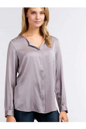 REPEAT cashmere Women Blouses - Womens Repeat 600004 Silk or Blue Blouse