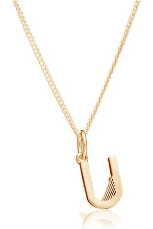 Rachel Jackson Women Necklaces - This Is Me U Alphabet Necklace