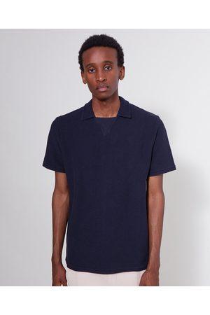 LES BASICS Women Polo Shirts - Le Polo Sweat Navy