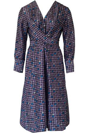 Anna Etter Women Midi Dresses - Midi Silk Dress Darleen