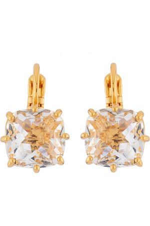 Les N r ides Square Crystal Clip-On Earrings