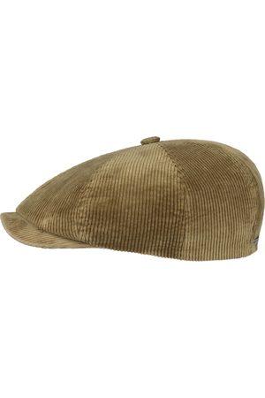 Stetson Men Hats - 8 Panel Corduroy Cap - Beige