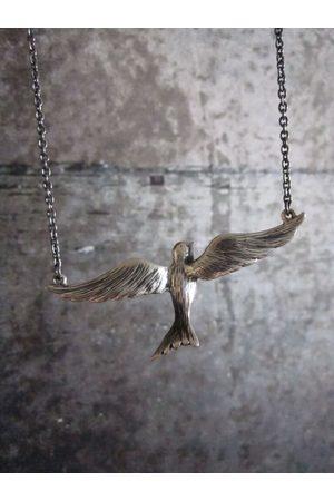 Collard Manson Collardmanson 925 Flying Bird Necklace