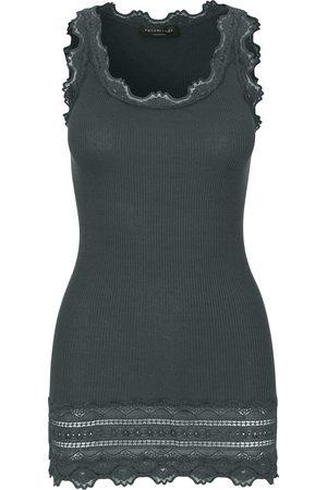 Rosemunde Women Camisoles - Benita Wide Lace Vest - Urban Chic