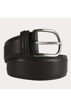 Anderson's Men Belts - Andersons Leather Belt - Dark Brown Smooth