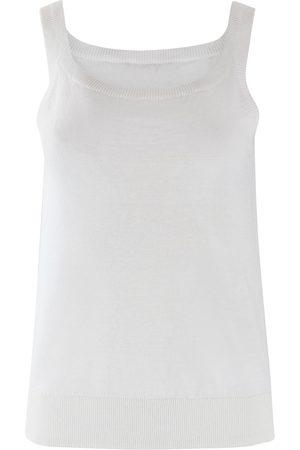 Max Mara Maxmara Studio Linen Knit Vest