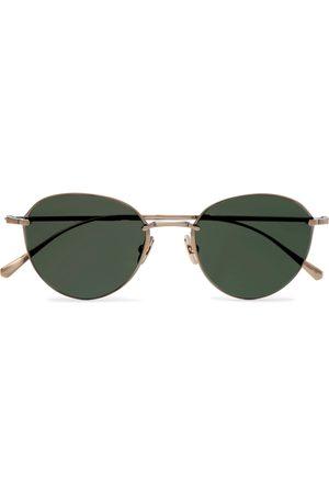 Mr. Leight Men Sunglasses - Mulholland S Round-Frame -Tone Sunglasses
